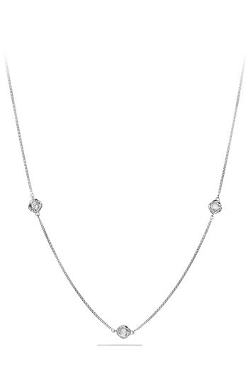 David Yurman 'Infinity' Necklace with Diamonds