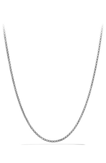 David Yurman Small Box Chain Necklace