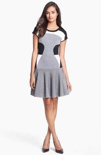 Diane von Furstenberg 'Renee' Knit Fit & Flare Dress