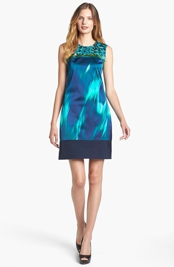 Elie Tahari 'Ginny - Pebble Weave' Dress