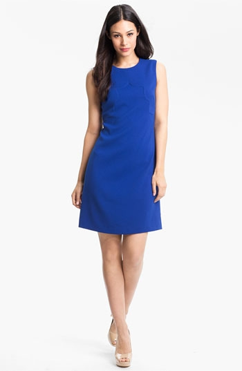 Eliza J Seam Detail Shift Dress