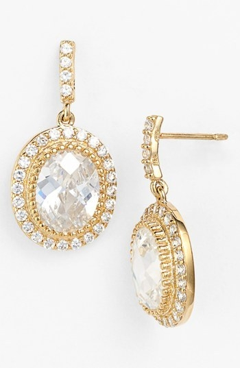 Freida Rothman 'Madison Avenue' Drop Earrings