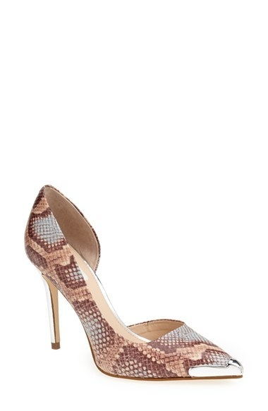 GUESS 'Beilan' Pointy Toe Half d'Orsay Pump (Women)