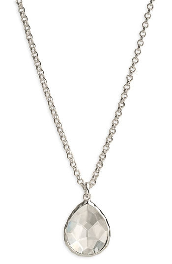 Ippolita 'Wonderland' Mini Teardrop Pendant Necklace (Online Only)