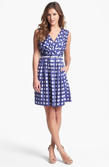 Ivy & Blu for Maggy Boutique Print Cotton Dress