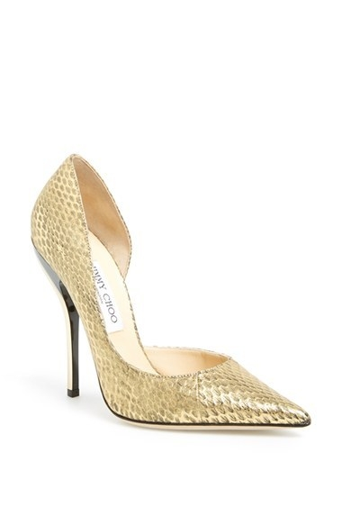 Jimmy Choo 'Whistler' Snake Embossed Leather Pump