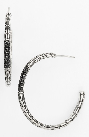 John Hardy 'Palu - Lava' Hoop Earrings