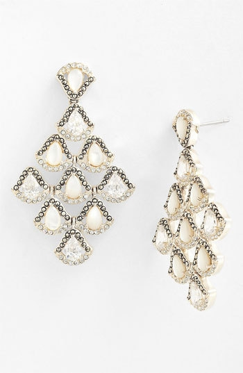Judith Jack 'Amore' Chandelier Earrings