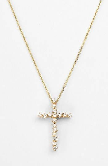 KALAN by Suzanne Kalan 'Starburst' Cross Pendant Necklace