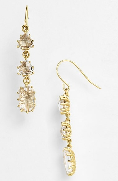 KALAN by Suzanne Kalan Stone Linear Earrings