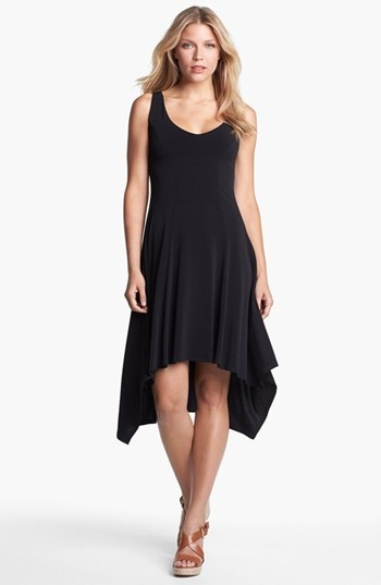 Karen Kane V-Neck High/Low Dress