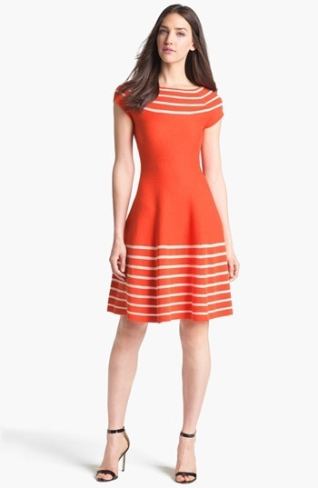 kate spade new york 'amalia' cotton sweater dress