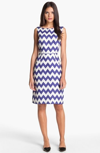 kate spade new york 'brent' linen sheath dress