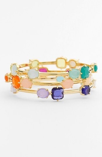 kate spade new york 'coated confetti' bangle