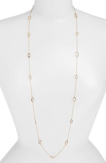 kate spade new york 'opening night' station necklace