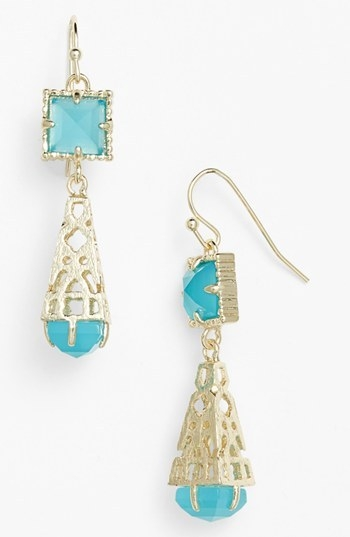 Kendra Scott 'Leslie' Teardrop Earrings