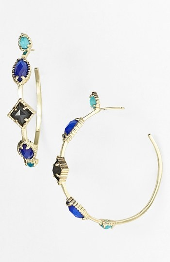 Kendra Scott 'Lexus' Hoop Earrings