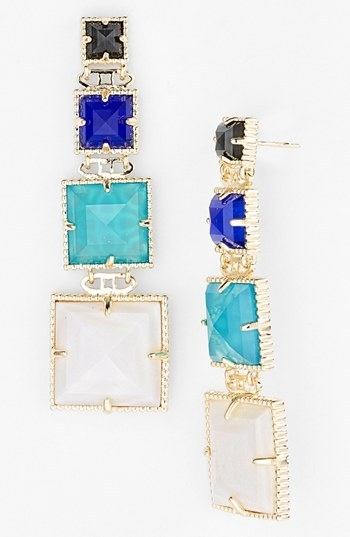 Kendra Scott 'Serena' Linear Earrings