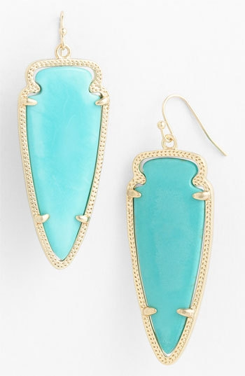 Kendra Scott 'Skylar Spear' Statement Earrings