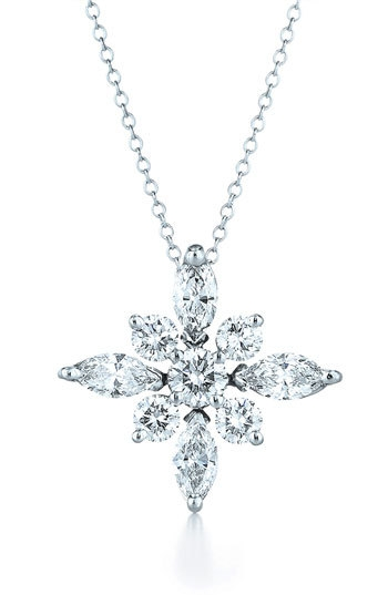 Kwiat .44ct tw Diamond Star Pendant Necklace