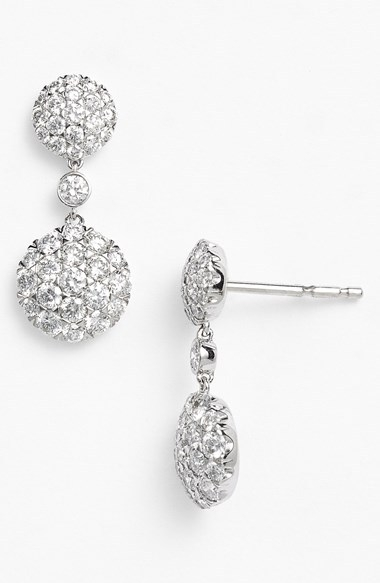 Kwiat 'Moonrise' Diamond Drop Earrings