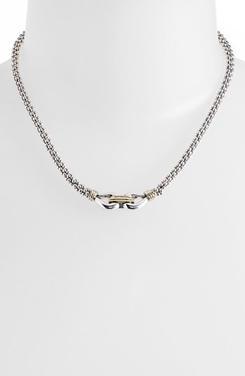 Lagos 'Derby' Caviar Rope Necklace