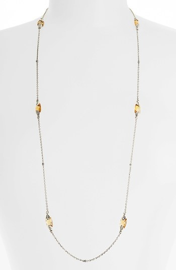 Lagos 'Prism' Long Station Necklace