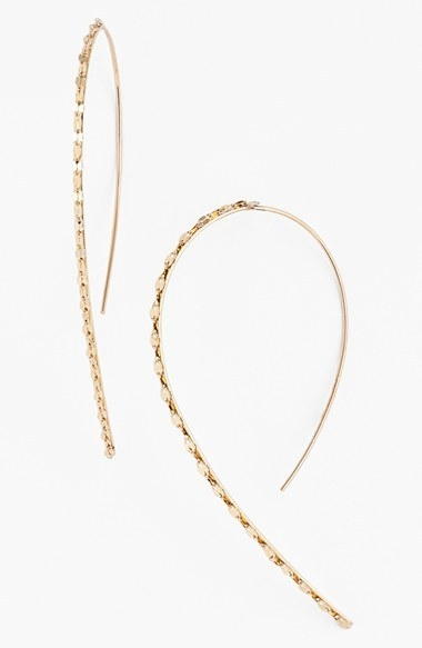 Lana Jewelry 'Glam' Small Hooked-On Hoop Earrings