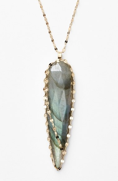 Lana Jewelry 'Ultra' Labradorite Spike Pendant Necklace