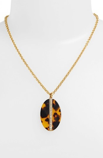 Lauren Ralph Lauren Oval Pendant Necklace