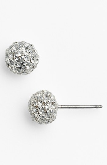 Lauren Ralph Lauren Pave Crystal Stud Earrings