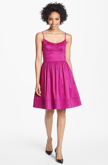 Maggy London Taffeta Fit & Flare Dress