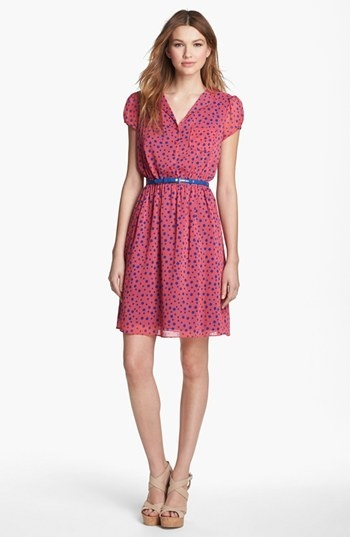 Marc New York by Andrew Marc Polka Dot Shirtdress