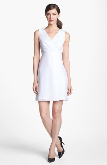 Marc New York by Andrew Marc Textured Sheath Dress