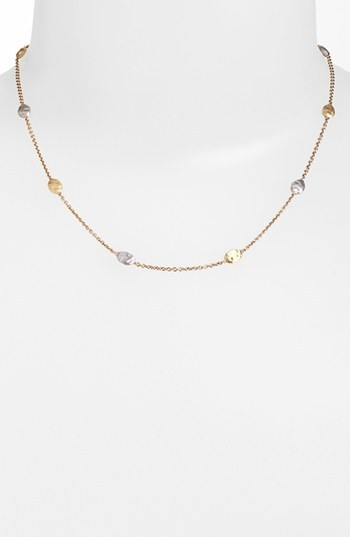 Marco Bicego 'Siviglia' Two-Tone Necklace (Nordstrom Exclusive)