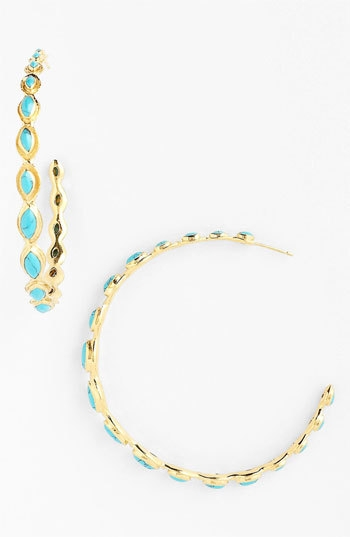 Melinda Maria 'Gwyneth' Large Hoop Earrings