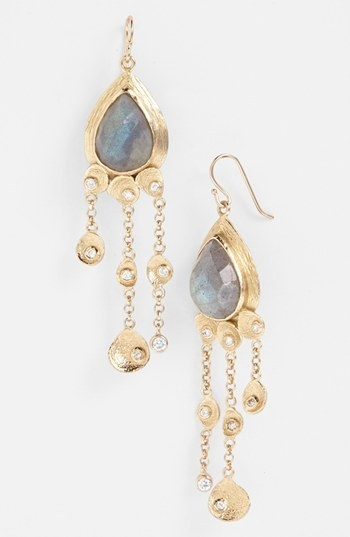 Melinda Maria 'Mosaic - Felix' Drop Earrings