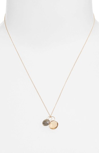 Melissa Joy Manning Double Pendant Necklace