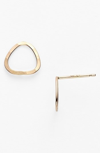 Melissa Joy Manning Open Stud Earrings