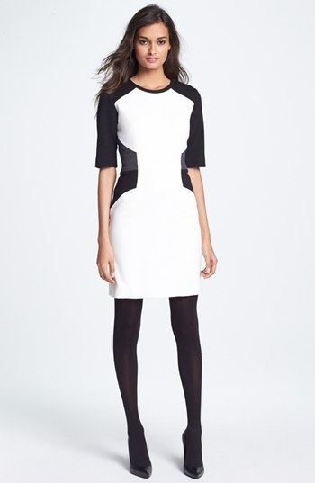 Milly Colorblock Sheath Dress