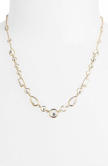 Nadri Mixed Cut Cubic Zirconia Necklace (Nordstrom Exclusive)