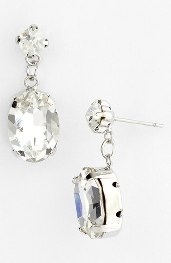 Nina 'Cintal Crystal Drop Earrings