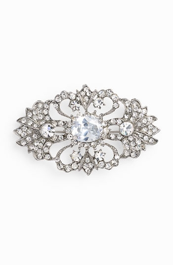 Nina 'Jaquelin' Crystal Brooch