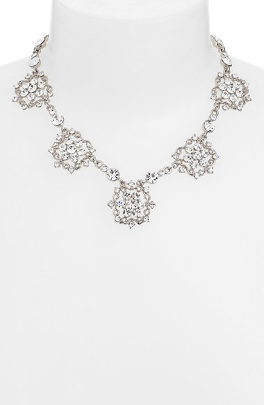 Nina 'Lucero' Crystal Frontal Necklace