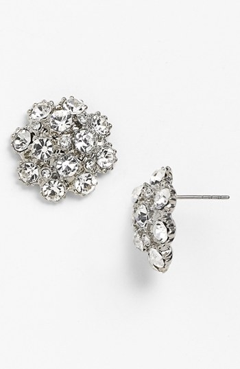 Nina 'Shirley' Cluster Stud Earrings