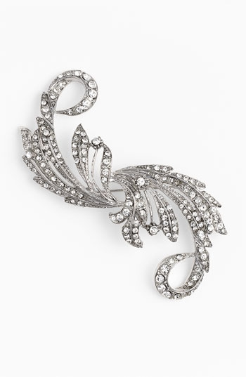 Nina 'Taylor' Crystal Statement Brooch