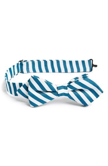 Nordstrom Cotton Blend Bow Tie (Toddler Boys)