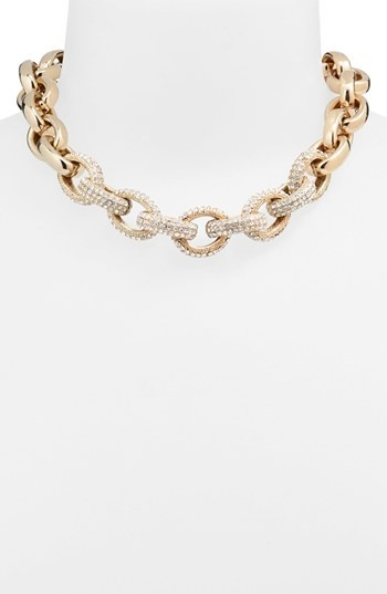 Nordstrom Pave Link Collar Necklace