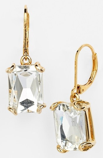 Nordstrom Rectangular Stone Drop Earrings