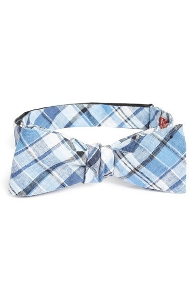 Original Penguin Linen Bow Tie